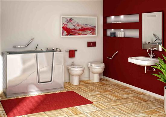 Maniglioni per disabili bagno italiano