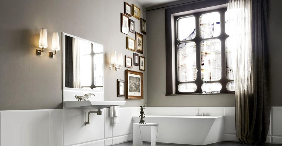 lampadari da bagno : Come illuminare il bagno - Bagno Italiano Blog