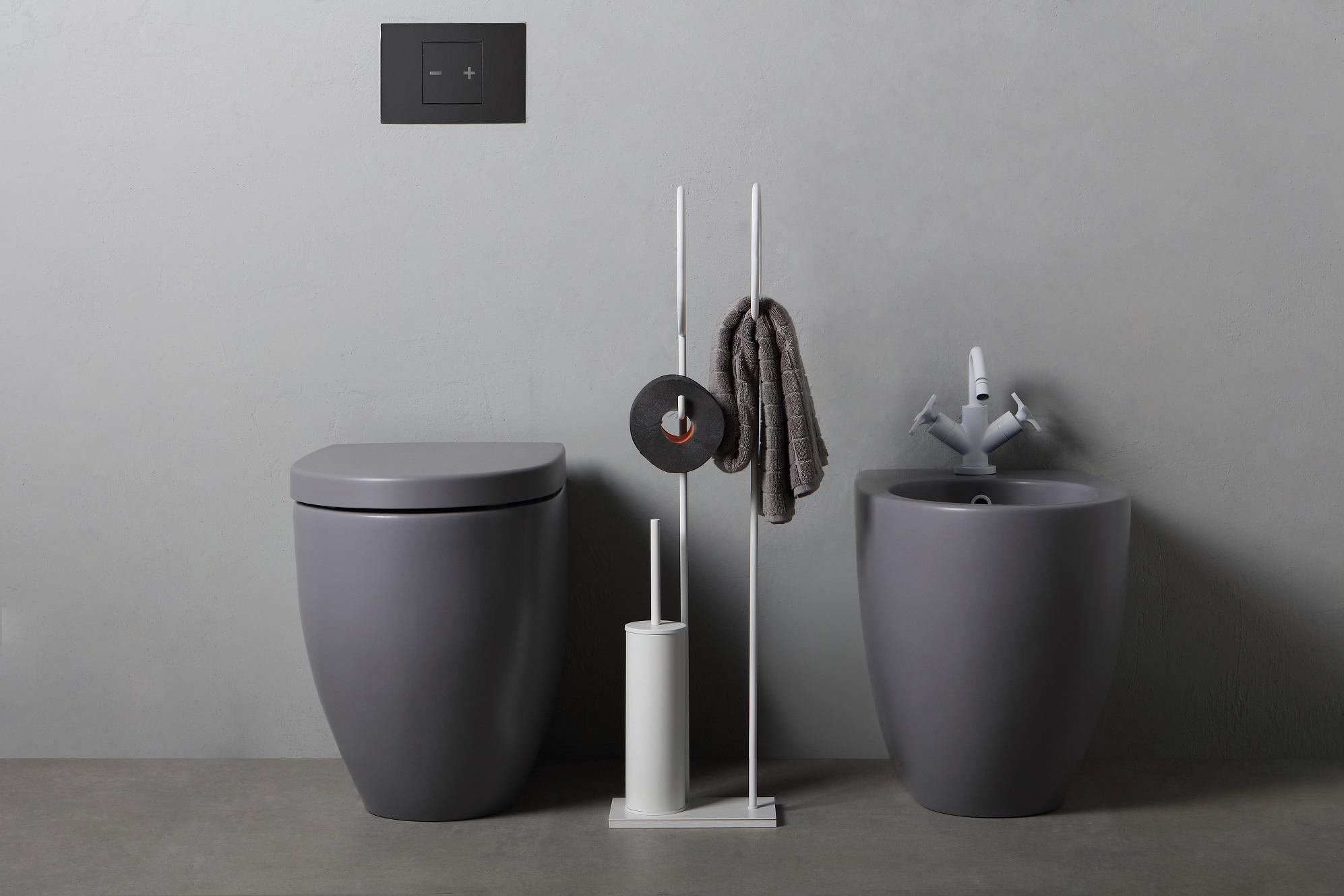Mobili Bagno Freestanding : Moon di bertocci arredo bagno ispirato alla luna bagno italiano