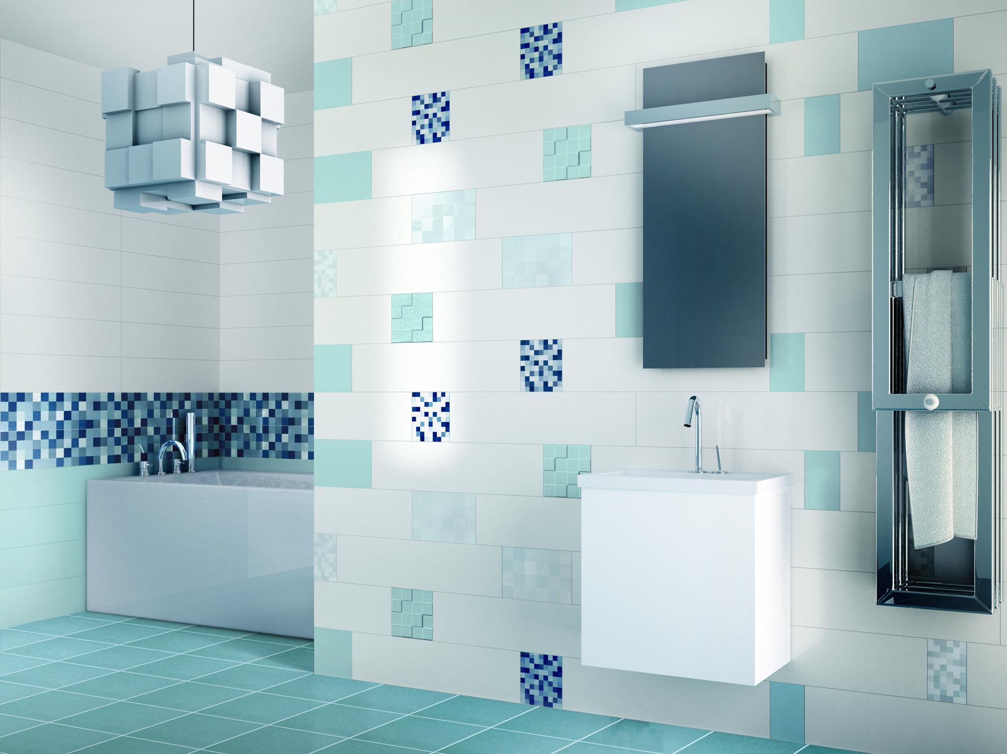 Ceramiche supergres presenta de co bagno italiano blog for Piastrelle bagno azzurre