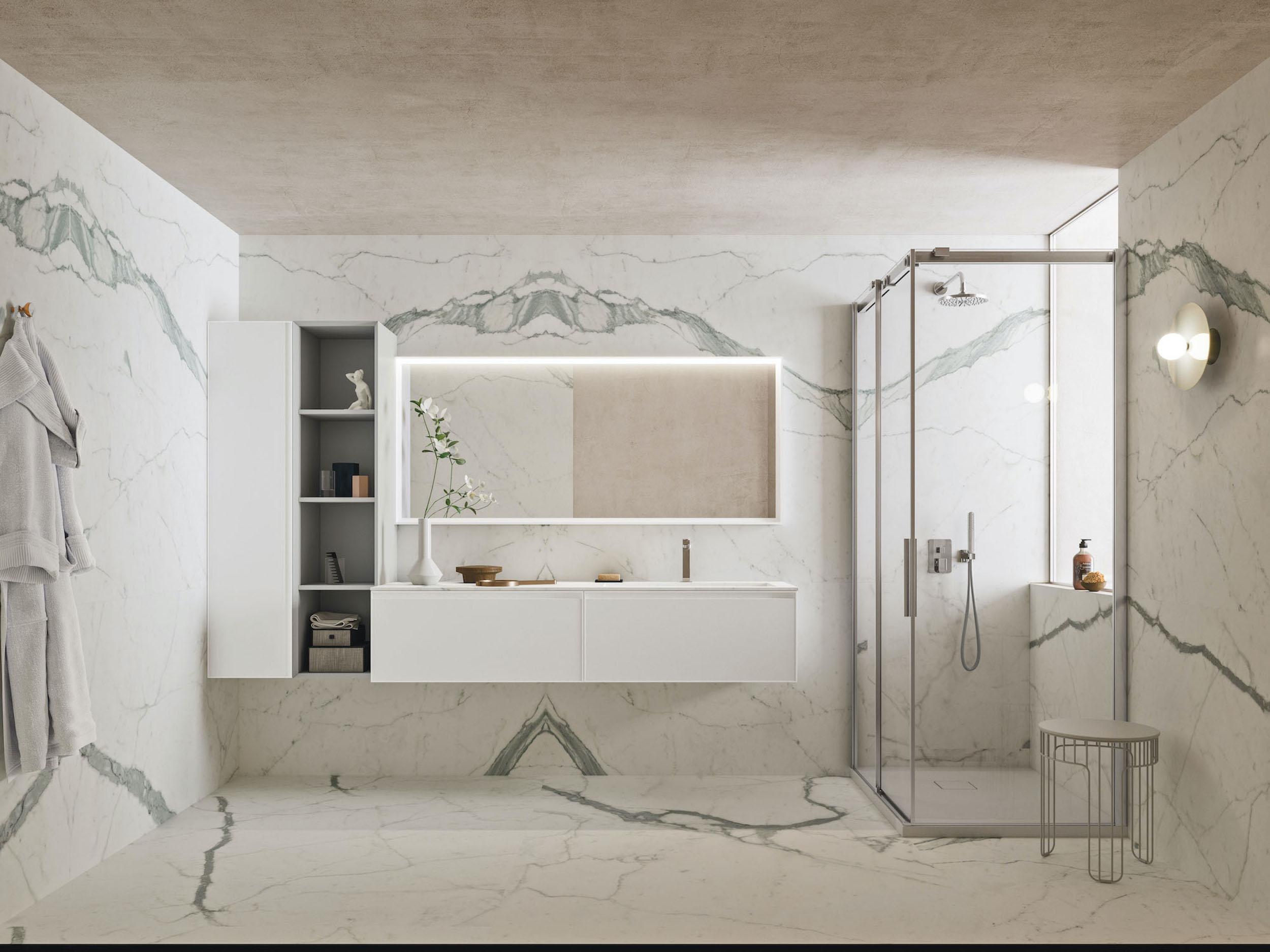 Proposte Di Arredo Bagno arbi arredobagno : proposte arredo bagno total white - bagno