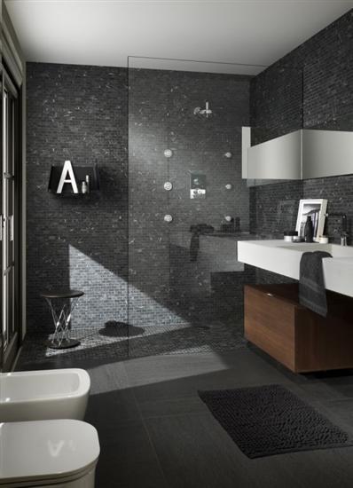 Lavabo Per Bagno Con Piastrelle A Mosaico