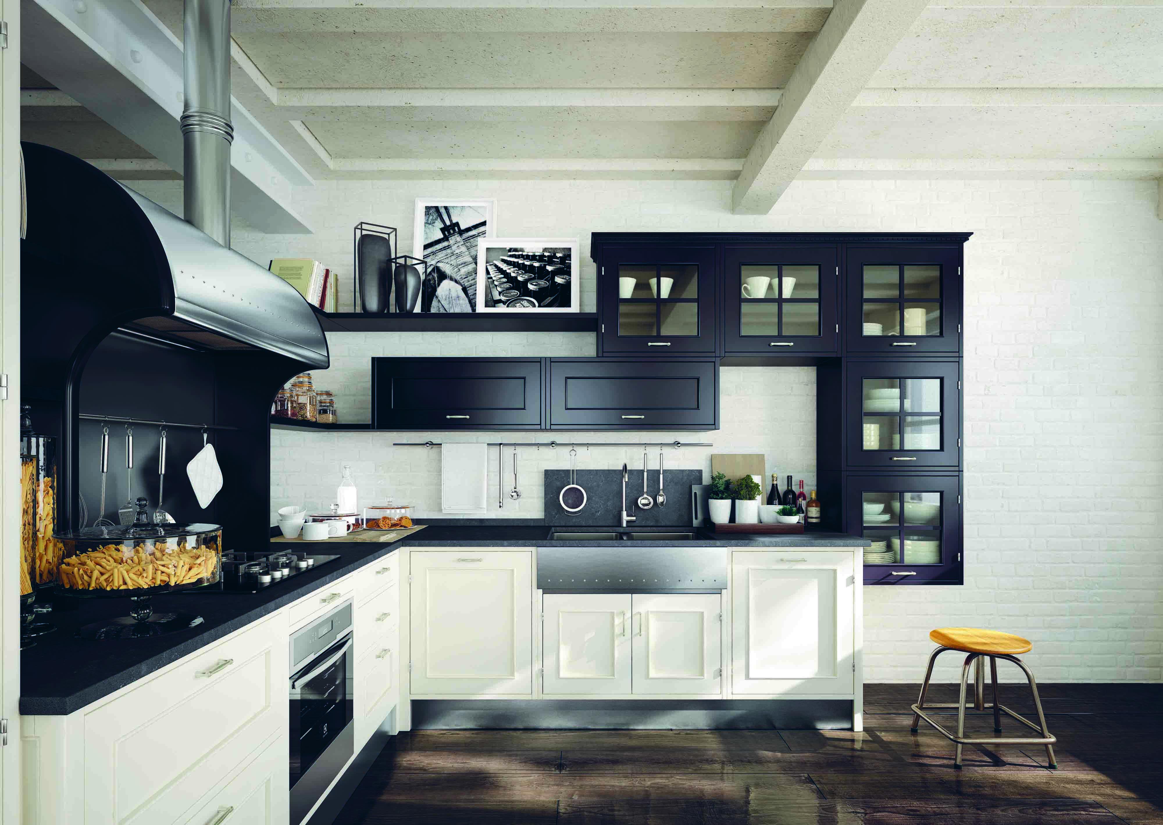 Montserrat, la cucina nera firmata Marchi - Bagno Italiano Blog