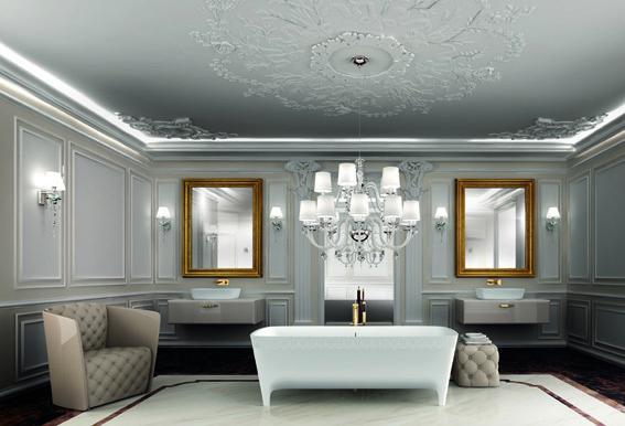 Autoritratti teuco incontra il design bagno italiano for Arredamento elegante classico