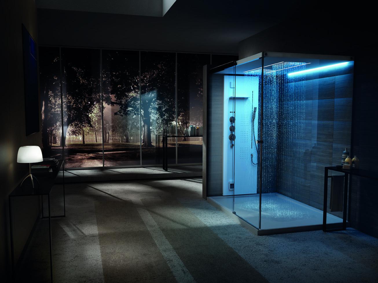 Light xxl il nuovo box doccia con hammam di teuco bagno italiano blog - Doccia bagno turco teuco ...