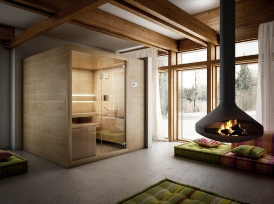 Arja, la sauna finlandese firmata Teuco