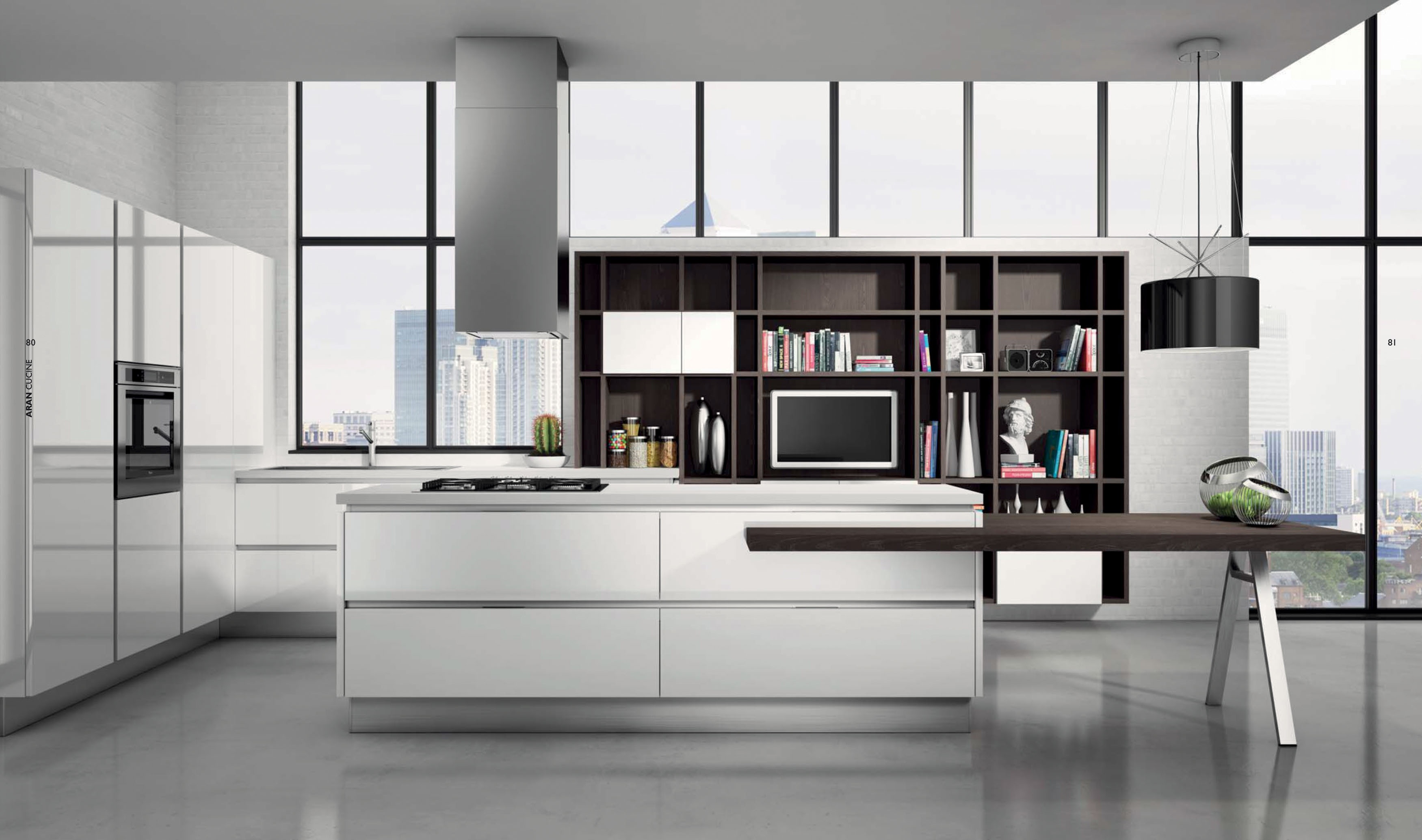 aran cucine in esclusiva le anteprime di eurocucina. Black Bedroom Furniture Sets. Home Design Ideas